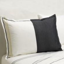Designers Guild Baratti Standard Pillow Sham - 200 TC Cotton Percale in Baratti - Closeouts