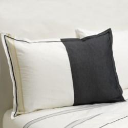 Designers Guild Baratti Standard Pillow Sham - 200 TC Cotton Percale in Baratti