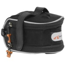 Detours Bike Midi Seat Bag - Expandable in Black - Closeouts