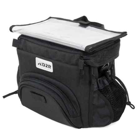 Detours D2R Handlebar Bag in Black - Closeouts