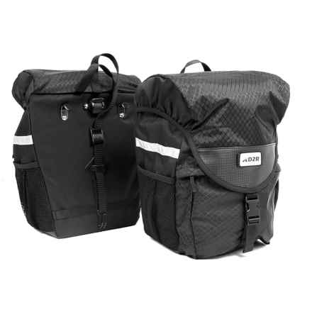 Detours D2R Large Pannier Set in Black - Closeouts