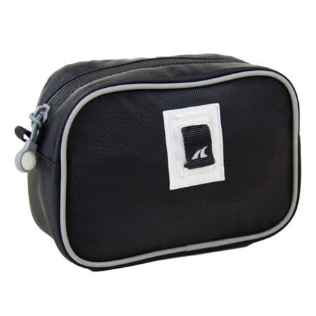 Detours Day Pass Handlebar Bag in Black Nylon