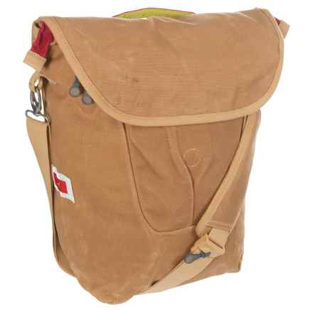 Detours Fremonster Flap Classic Pannier in Tan - Closeouts