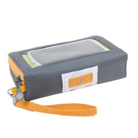 Detours Glovebox Handlebar Bag in Gray