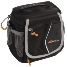 Detours Leto Handlebar Bag in Black - Closeouts
