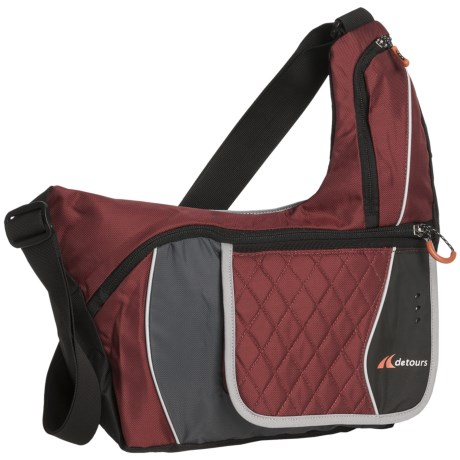 Detours Soho Shoulder Bag in Burgundy