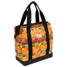 Detours Toocan Bike Pannier - Juicy Weave in Orange Juice - Closeouts