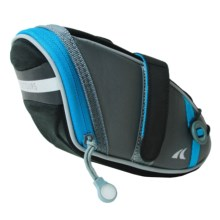 Detours Wedgie Cycling Seat Bag - Medium in Gray/Blue - Closeouts