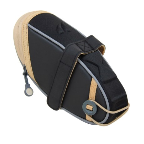 Detours Wedgie Seat Bag - Large in Black Coated