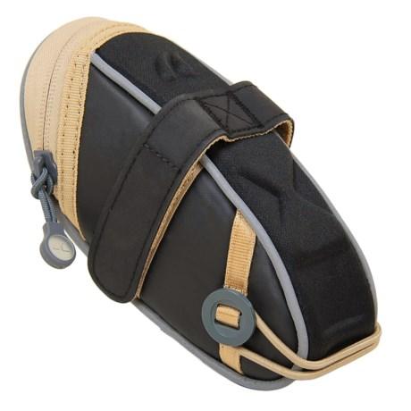 Detours Wedgie Seat Bag - Medium in Black Coated