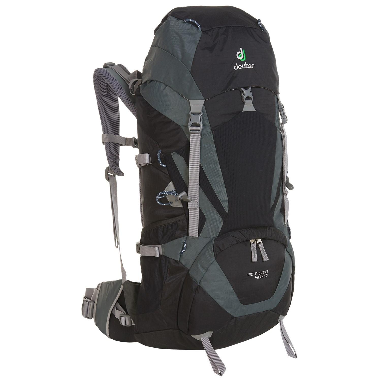 deuter act lite 40 10 backpack internal frame save 25. Black Bedroom Furniture Sets. Home Design Ideas