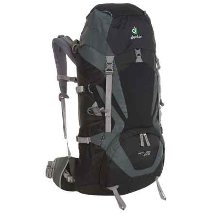 Deuter ACT Lite 40+10 Backpack - Internal Frame in Black/Granite - Closeouts