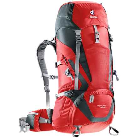 Deuter ACT Lite 40+10 Backpack - Internal Frame in Fire/Granite - Closeouts