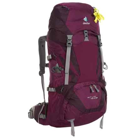 Deuter ACT Lite 45+10 SL Backpack - Internal Frame (For Women) in Blackberry/Aubergine - Closeouts