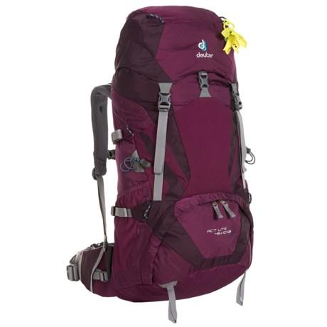 0e3da9843f Deuter ACT Lite 45+10 SL Backpack - Internal Frame (For Women) in