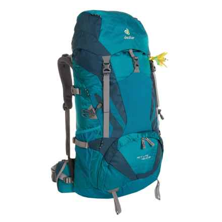 Deuter ACT Lite 45+10 SL Backpack - Internal Frame (For Women) in Petrol/Arctic - Closeouts