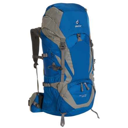 Deuter ACT Lite 50L + 10 Backpack in Ocean/Silver - Closeouts