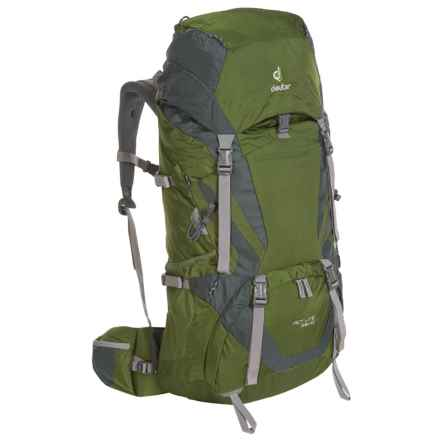 Deuter ACT Lite 65+10 Backpack in Pine/Granite - Closeouts