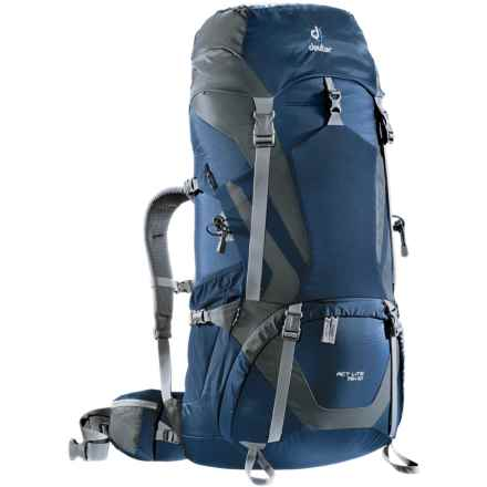 Deuter ACT Lite 75+10 Backpack - Internal Frame in Midnight/Granite - Closeouts