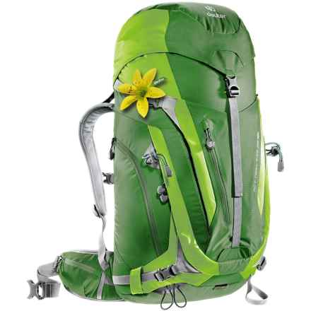 Deuter ACT Trail Pro 38 SL Backpack - Internal Frame (For Women) in Emerald/Kiwi - Closeouts