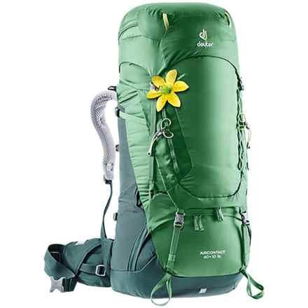 Deuter Aircontact 60+10 L SL Backpack - Internal Frame (For Women)
