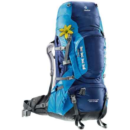 Deuter Aircontact Pro 65 + 15 SL Backpack - Internal Frame (For Women) in Midnight/Turquoise - Closeouts