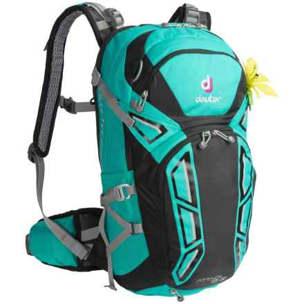Deuter Attack 18 SL Backpack (For Women) in Mint/Black - Closeouts