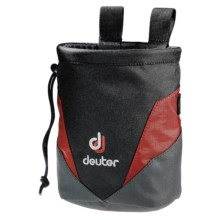 Deuter Chalk Bag II in Lava/Anthracite - Closeouts