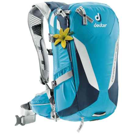 Deuter Compact EXP 10 SL Hydration Pack - 3L in Turquoise/Midnight - Closeouts