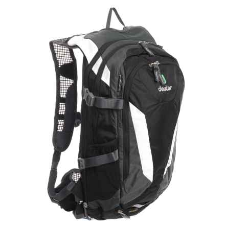 Deuter Compact EXP 12 Hydration Pack - 3L in Black/Granite - Closeouts