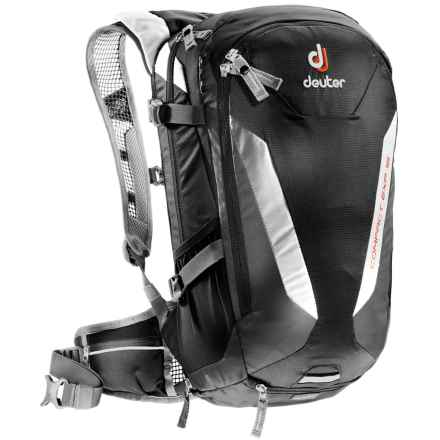 Deuter Compact EXP 16 Hydration Pack - 100 fl.oz., Internal Frame in Black/Granite - Closeouts
