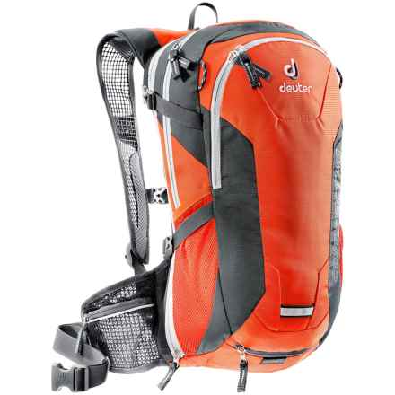 Deuter Compact EXP Air 10 Hydration Pack - 100 fl.oz., Internal Frame in Papaya/Granite - Closeouts