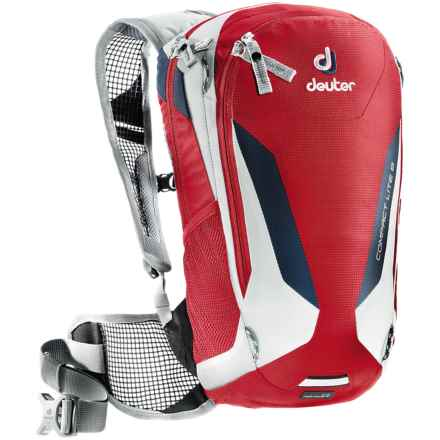 Deuter Compact Lite 8 Hydration Pack - 100 fl.oz. in Fire/White - Closeouts