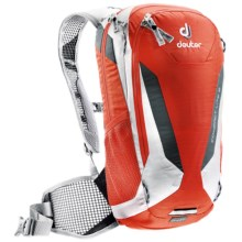 Deuter Compact Lite 8 Hydration Pack - 100 fl.oz. in Papaya/White - Closeouts