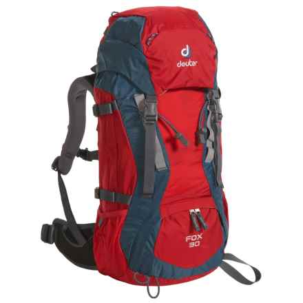 Deuter Fox 30 Backpack (For Big Kids) in Fire/Arctic - Closeouts