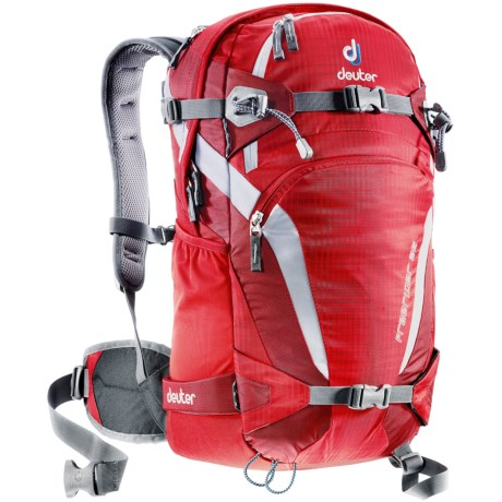 Deuter Freerider 26 Backpack in Fire/Cranberry