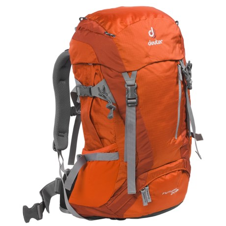 Deuter Futura 24 SL Backpack - Internal Frame (For Women) in Orange/Lava