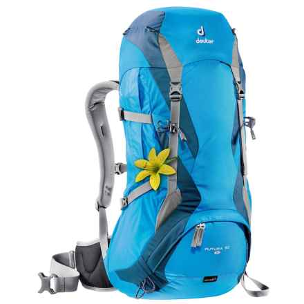 Deuter Futura 30 SL Backpack - Internal Frame (For Women) in Turquoise/Arctic - Closeouts