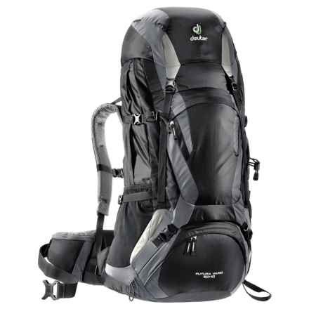 Deuter Futura Vario 50+10 Backpack - Internal Frame in Black/Titan - Closeouts