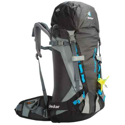 Deuter Guide 30+ SL Backpack - Internal Frame (For Women) in Black/Titan - Closeouts