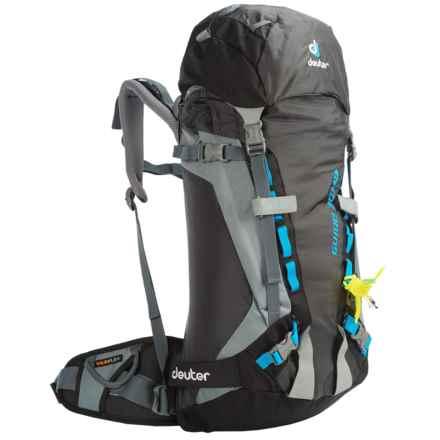 Deuter Guide 30+ SL Backpack - Internal Frame (For Women) in Black/Titan - Closeouts