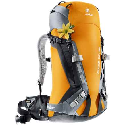 Deuter Guide 30+ SL Backpack - Internal Frame (For Women) in Sun/Titan - Closeouts