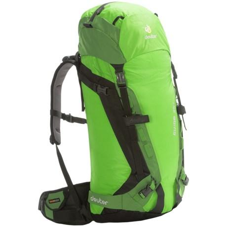 Deuter Guide 35+ Backpack in Kiwi/Emerald
