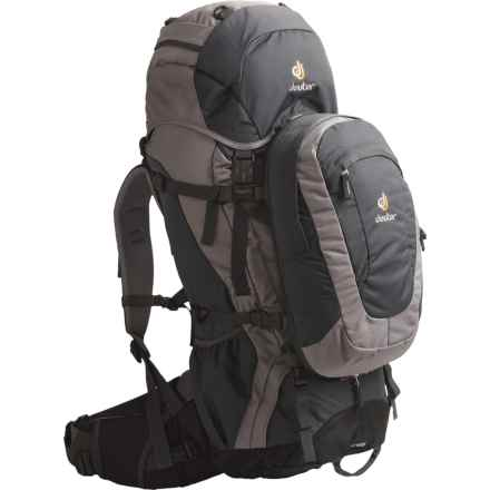Deuter Quantum 55L + 10 Backpack in Anthracite/Flint - Closeouts