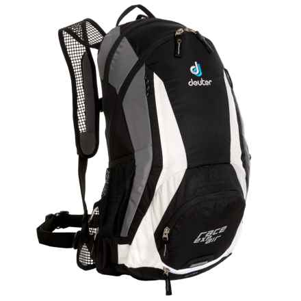 Deuter Race EXP 12 Air Hydration Pack - 100 fl.oz. in Black/White - Closeouts