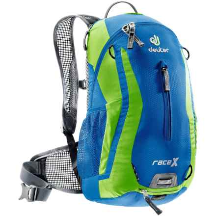 Deuter Race X Hydration Pack - 3L in Ocean/Kiwi - Closeouts