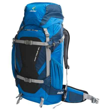 Deuter Rise Tour 45+ Winter Backpack - Internal Frame in Ocean-Midnight - Closeouts
