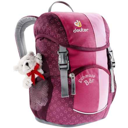 Deuter Schmusebar Backpack (For Little and Big Kids) in Pink - Closeouts