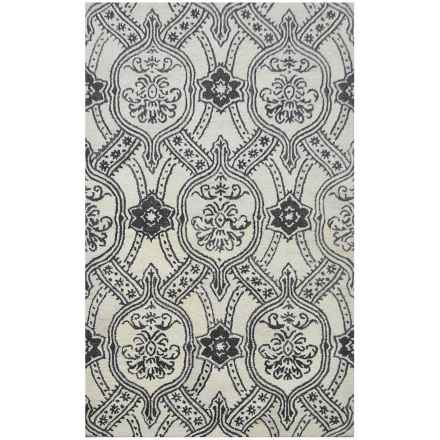 Devgiri Hand-Tufted Wool Area Rug - 5x8' in Indochine - Closeouts