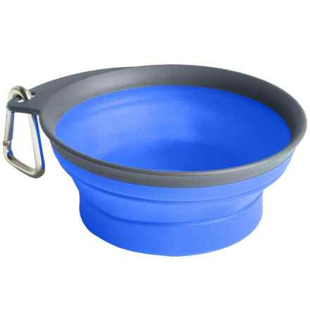 Dexas Collapsible Travel Cup - Large, 16 fl.oz. in Blue - Closeouts
